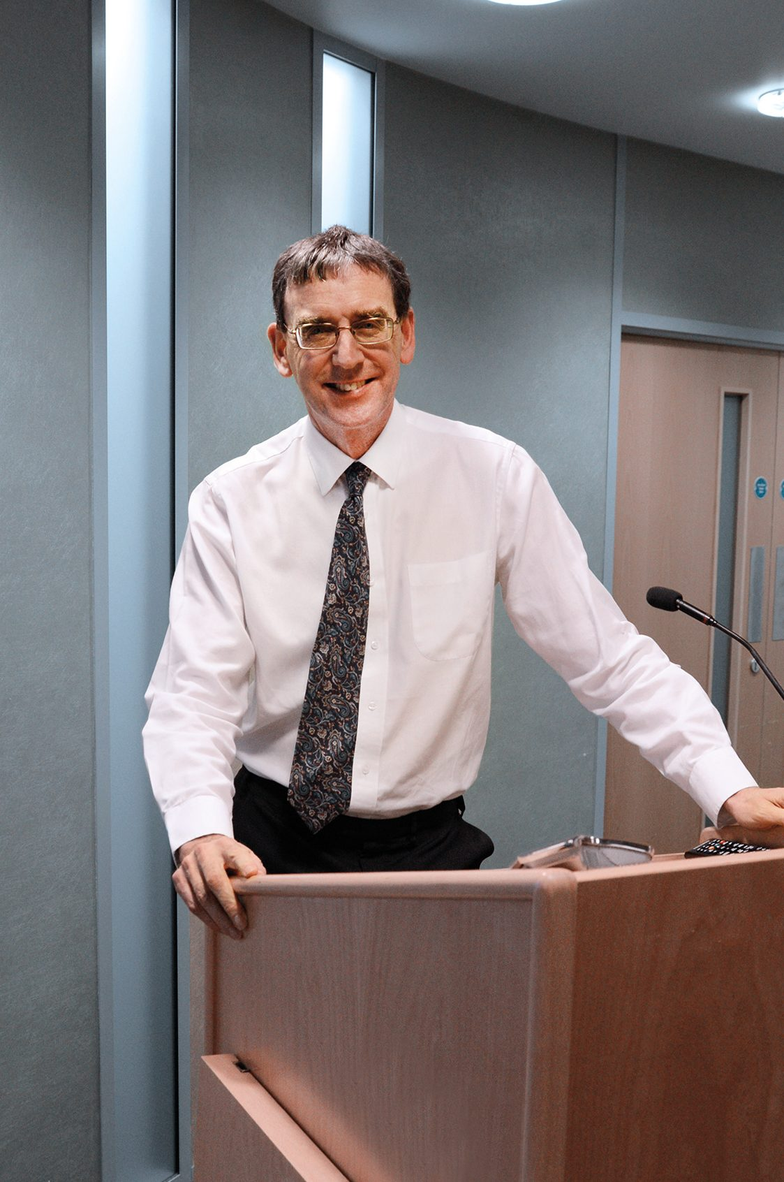 A photo of John Pullinger, UK National Statistician.